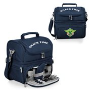 Star Wars The Mandalorian Grogu Navy-Blue Pranzo Lunch Cooler Bag