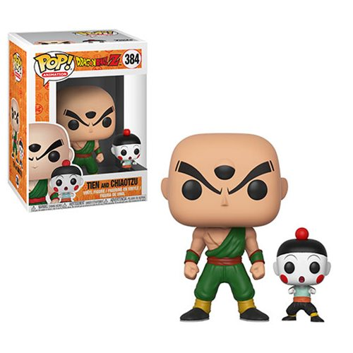 Dragon Ball Z Tien and Chiaotzu Pop! Vinyl Figure #384