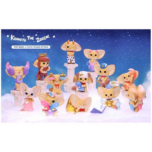Kenneth The Fox Zodiac Mini-Figures Blind Box