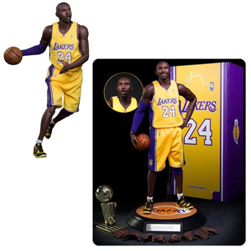 0f74de450888 Kobe Bryant Real Masterpiece 1 6 Scale Figure - Entertainment Earth