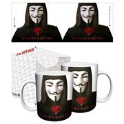 V for Vendetta Rose 11 oz. Mug