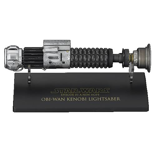 Episode Iv Obi Wan 45 Scale Weathered Lightsaber Replica Entertainment Earth