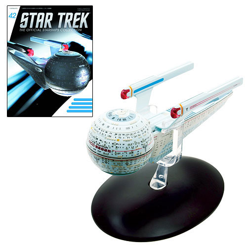 Star Trek Starships U.S.S. Pasteur Die-Cast Vehicle with Collector Magazine