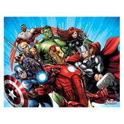 Avengers Blue Canvas Print