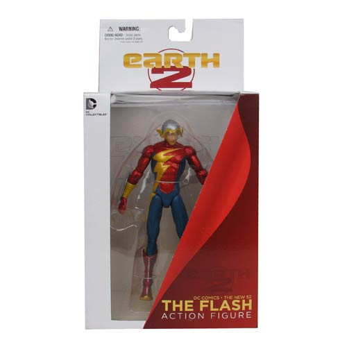 67629cb19a0 DC Comics Earth 2 New 52 Flash Action Figure - Entertainment Earth