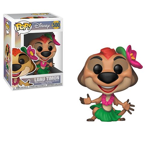 The Lion King Luau Timon Pop! Vinyl Figure #500