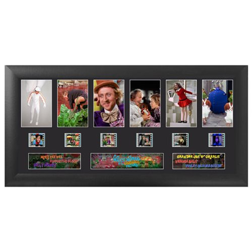 Willy Wonka and the Chocolate Factory Series 1 Deluxe Film Cell