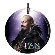 Pan: The Journey Begins Blackbeard StarFire Prints Hanging Glass Ornament