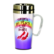 The Wizard of Oz Ruby Slippers Insulated Travel Mug with Handle