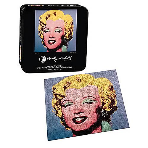 Andy Warhol Marilyn Monroe Puzzle