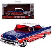 Marvel Hollywood Rides Falcon 1957 Chevy Bel Air 1:32 Scale Die-Cast Metal Vehicle