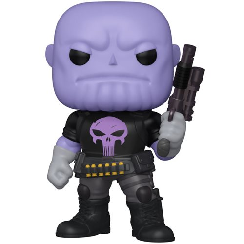 Marvel Heroes Thanos Earth-18138 6-Inch Pop! Vinyl Figure - Previews Exclusive, Not Mint