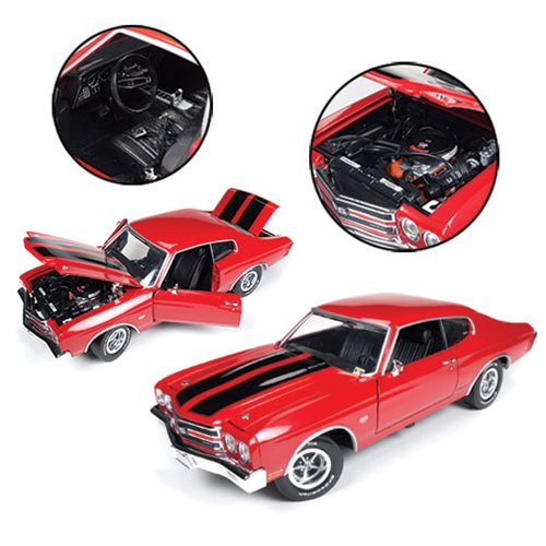 1970 Chevrolet Chevelle SS Jack Reacher 1:18 Scale Die-Cast Metal Vehicle