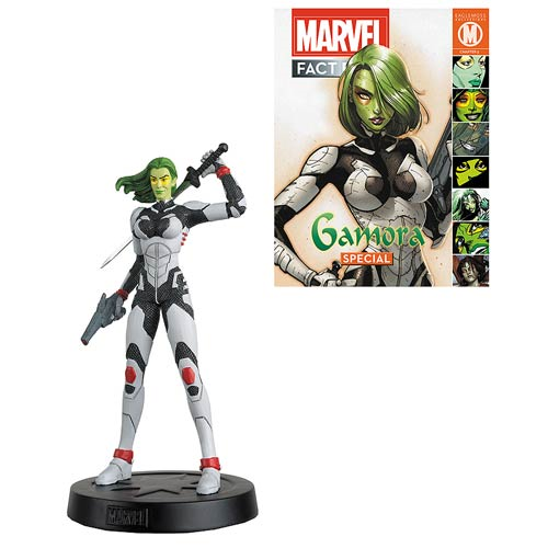 Marvel Fact Files Cosmic Special #4 Gamora Statue with Collector Magazine