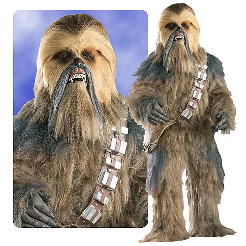 Chewbacca Supreme Edition Costume, Not Mint