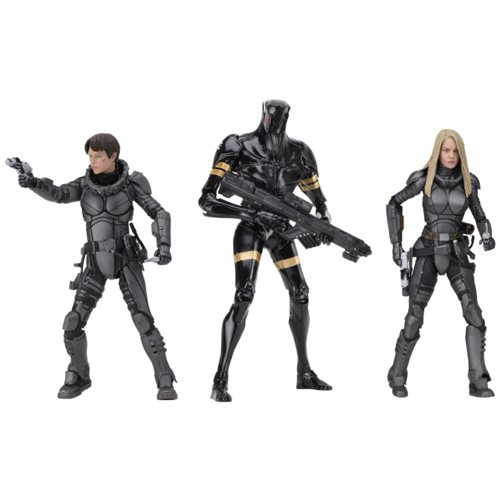 Valerian Series 1 7-Inch Action Figure Set