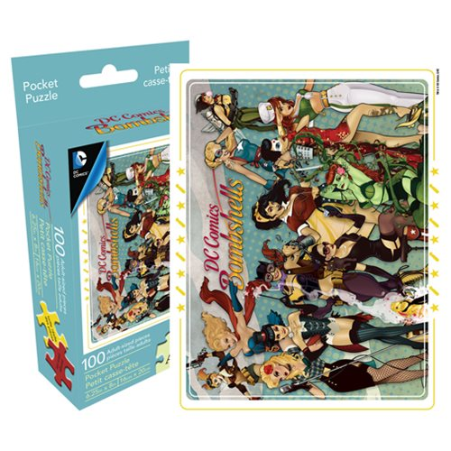DC Bombshells 100-Piece Pocket Puzzle