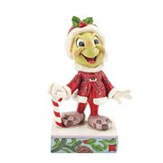 Disney Traditions Pinocchio Jiminy Cricket Santa Be Wise and Be Merry by Jim Shore Statue
