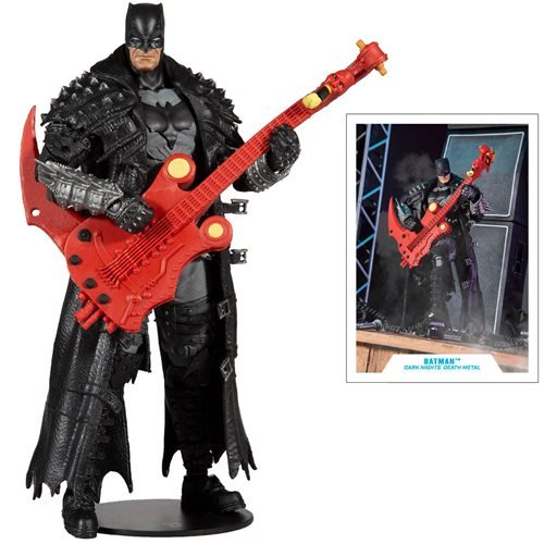 DC Build-A Wave 4 Dark Nights Death Metal Batman 2 Action Figure