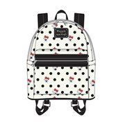 Hello Kitty Polka Dot PU Mini Backpack a9beb7f974a66