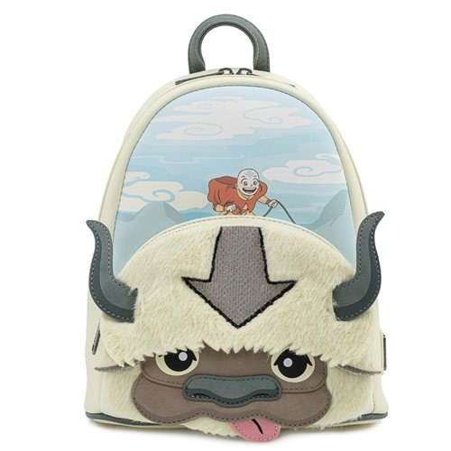Avatar: The Last Airbender Aang Appa Plush Mini-Backpack