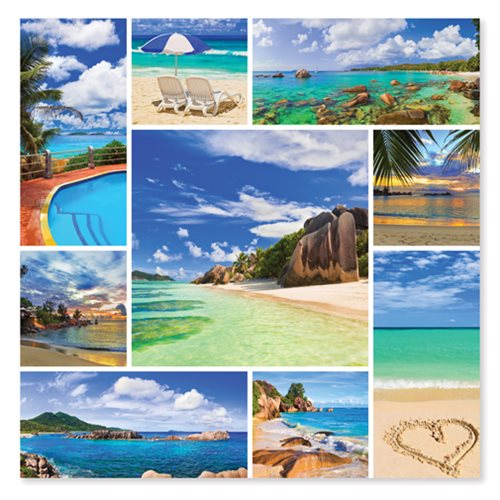 Photos from Paradise 1,000-Piece Jigsaw Puzzle