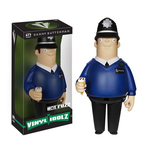 Hot Fuzz Danny Butterman Vinyl Idolz Figure