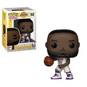 NBA Lakers LeBron James White Uniform Pop! Vinyl Figure #52