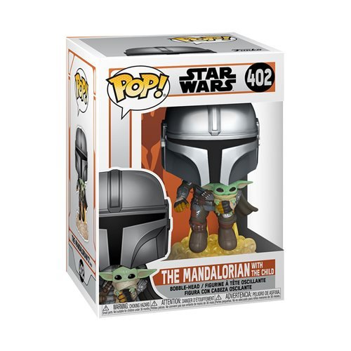 Star Wars: The Mandalorian Flying Pop! Vinyl Figure