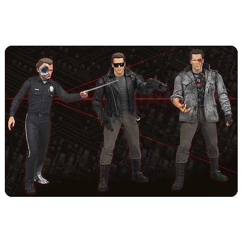 Terminator Collection Series 2 Action Figure Case