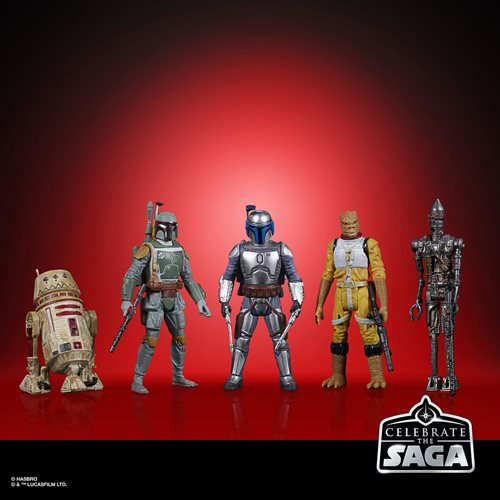 Star Wars Celebrate the Saga Bounty Hunters 3 3/4-Inch Action Figure Set