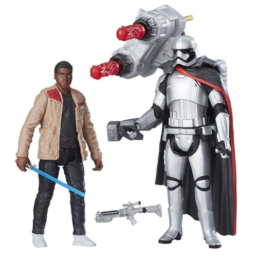Star Wars Captain Phasma and Finn Figure 2-Pack, Not Mint