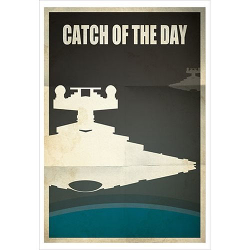 Star Wars Catch of the Day by Jason Christman Paper Giclee Art Print