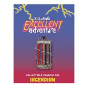 Bill & Ted`s Excellent Adventure Phone Booth Lapel Pin