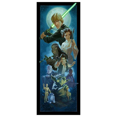 Star Wars Rebel Alliance Paper Giclee Print