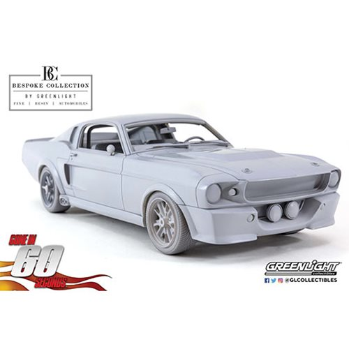 "Gone in Sixty Seconds (2000) 1967 Ford Mustang ""Eleanor"" Bespoke Collection 1:12 Scale Resin Model V"