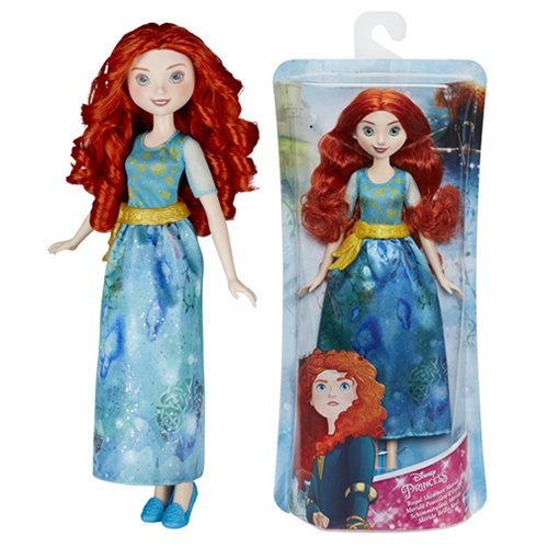 Disney Princess Royal Shimmer Merida Doll, Not Mint