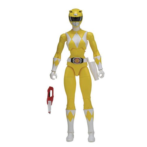 Power Rangers Legacy Yellow Ranger Action Figure, Not Mint