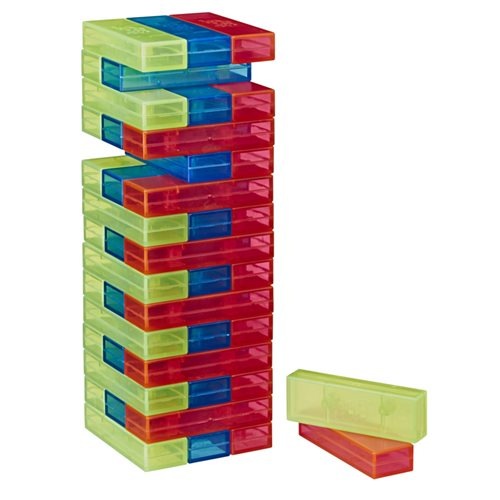 Jenga Neon Pop Edition Game