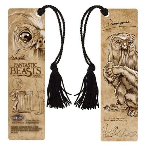 Fantastic Beasts and Where to Find Them Demiguise Notes Bookmark