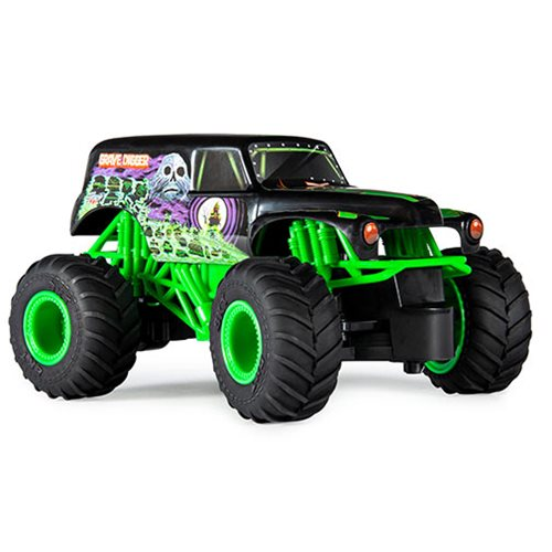 Monster Jam Grave Digger 1:24 Scale Remote Control Monster Truck