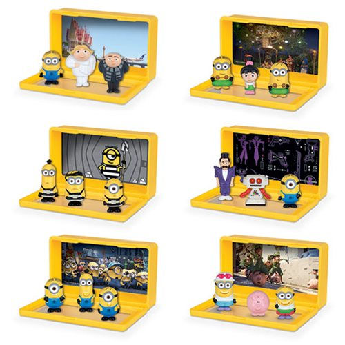 Despicable Me 3 Micro Minion Playsets 3-Pack Set