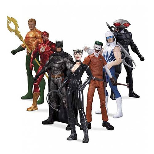 DC Comics The New 52 Super Heroes vs. Super Villains Action Figure 7-Pack