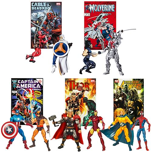 Marvel Universe Action Figure Comic Packs Wave 8