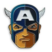 Captain America Enamel Pin