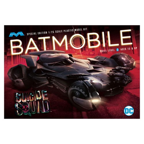 Suicide Squad Batmobile 1:25 Scale Model Kit