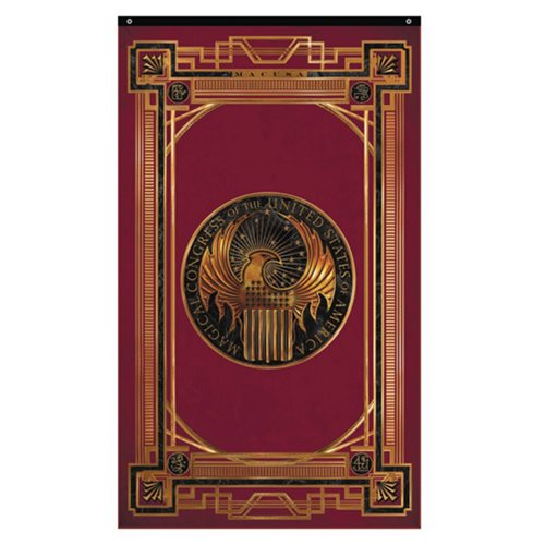 Fantastic Beasts and Where to Find Them Magical Congress of the United States of America Wall Banner