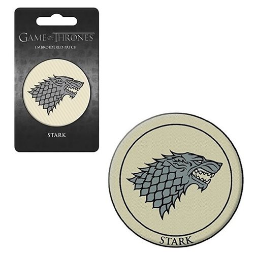 Game of Thrones House of Stark Embroidered Patch