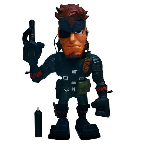 Metal Gear Solid Figure Normal Snake Vinyl Figure