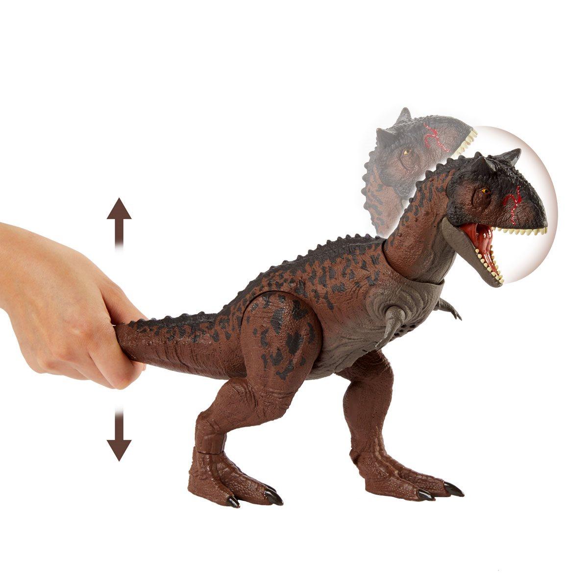 NEW! Jurassic World Control 'N Conquer Carnotaurus Dinosaur Figure Toy
